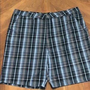 Hurley Black, Brown, Blue and White 38 Shorts